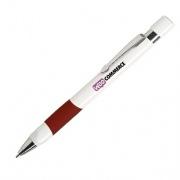 De basic pen is een robuuste pen, die jaren mee gaat. Druk jouw logo in full color op deze pen zodat jouw logo onder vele ogen komt. De basic pen is een perfect relatiegeschenk en te bestelling in een blauwe en een rode variant. Al leverbaar vanaf 50 stuks Perfect voor promotie Luxe grijze body Full colour bedrukt