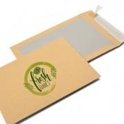 bordrug enveloppen